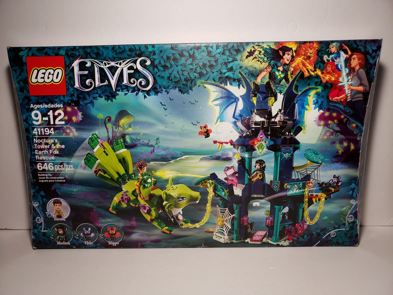 Lego Elves Noctura's Tower&The Earth Fox