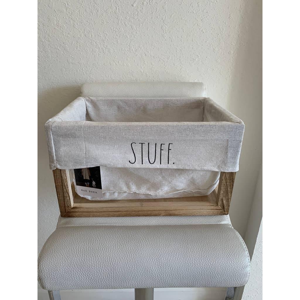 NWT Rae Dunn Stuff Container
