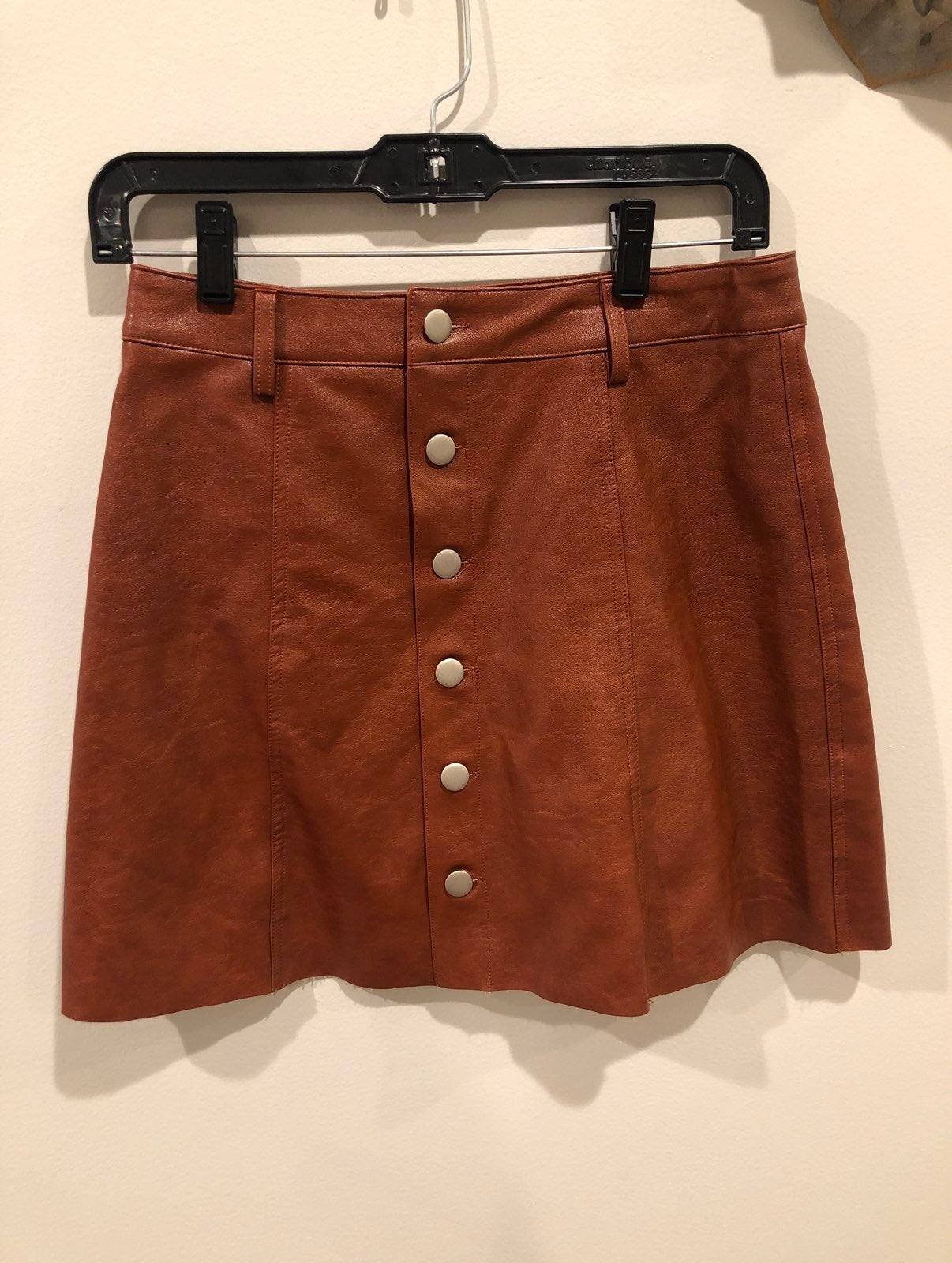 Boutique Leather Skirt