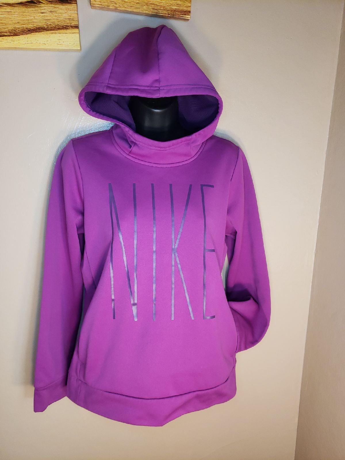 Nike Dri - Fit Purple Youth XL Hoodie