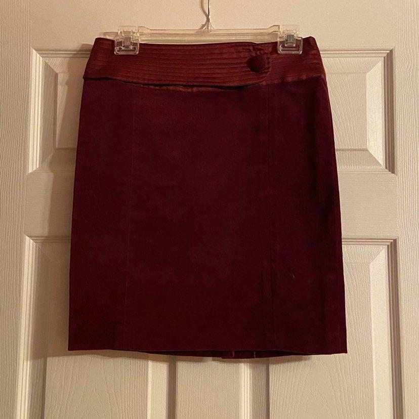 Behnaz Sarafpour velvet skirt
