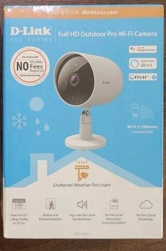 D-Link WiFi SMART Indoor/Outdoor Camera