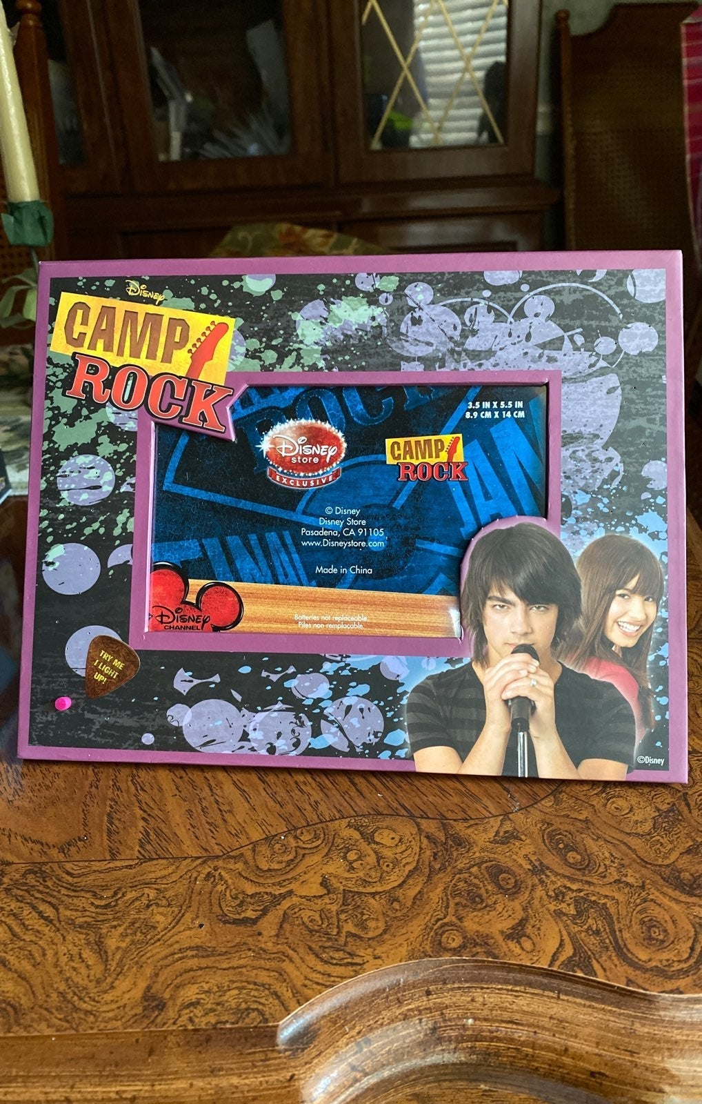 Camp Rock Picture Frame