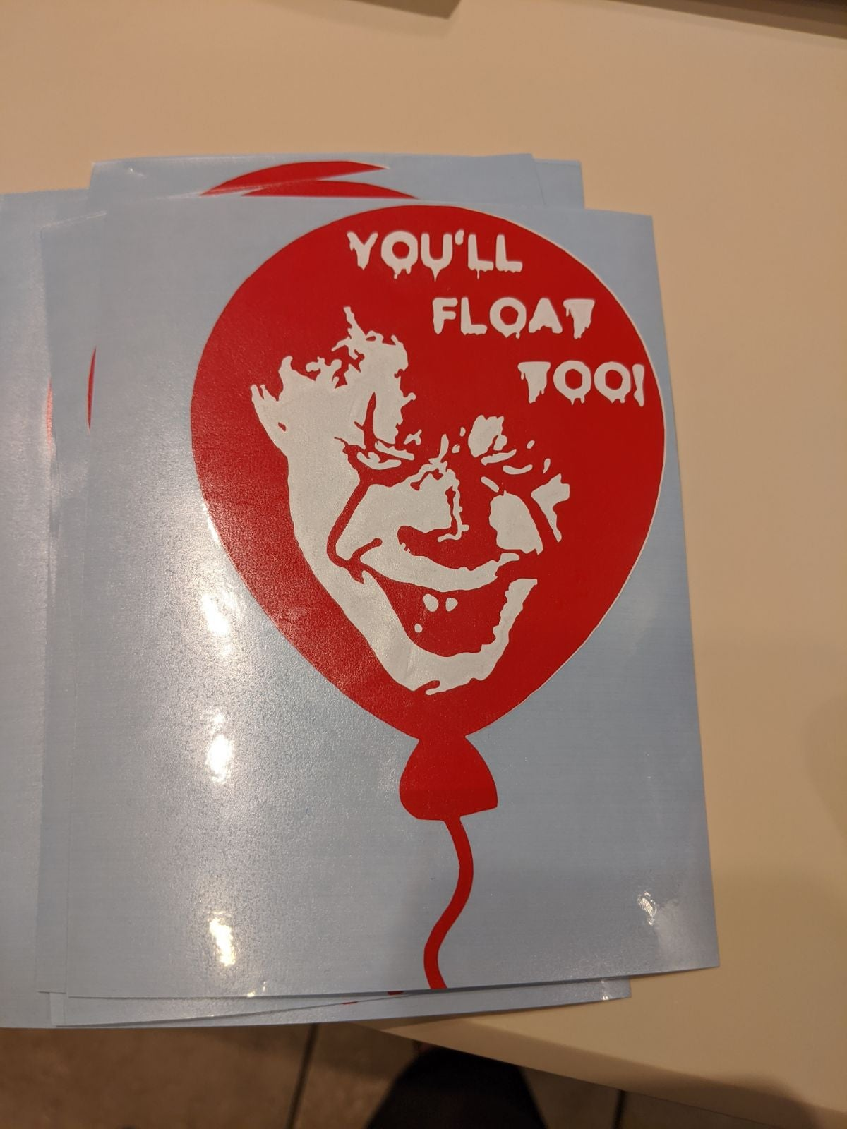 Pennywise decal