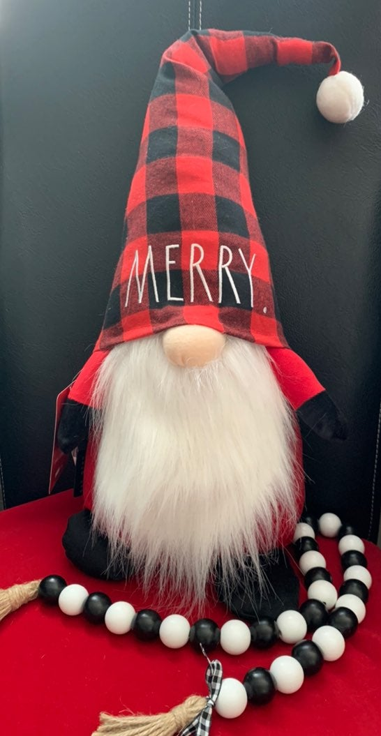 NEW Rae Dunn MERRY Gnome-(Large)