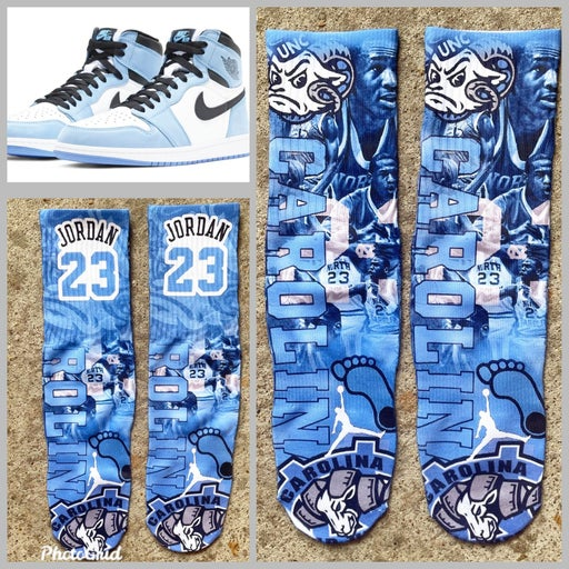 UNC 1s socks