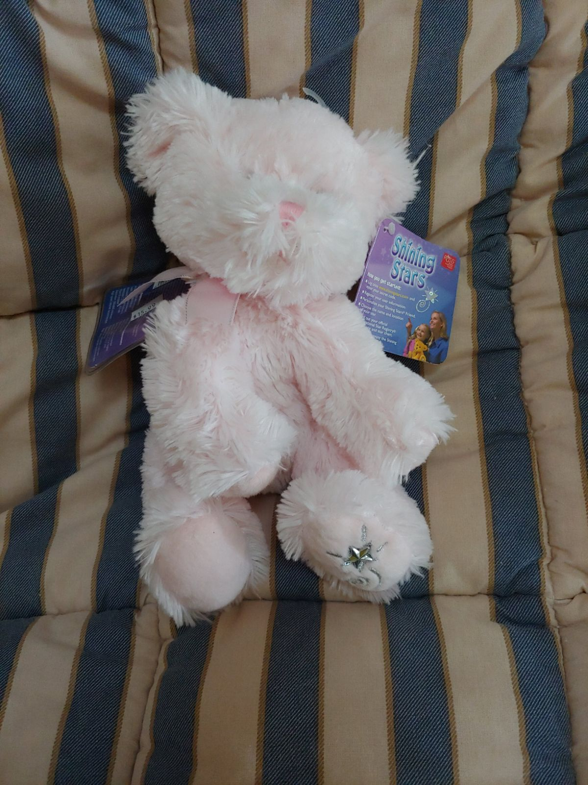 Shinning Stars New Pink Bear Collectable