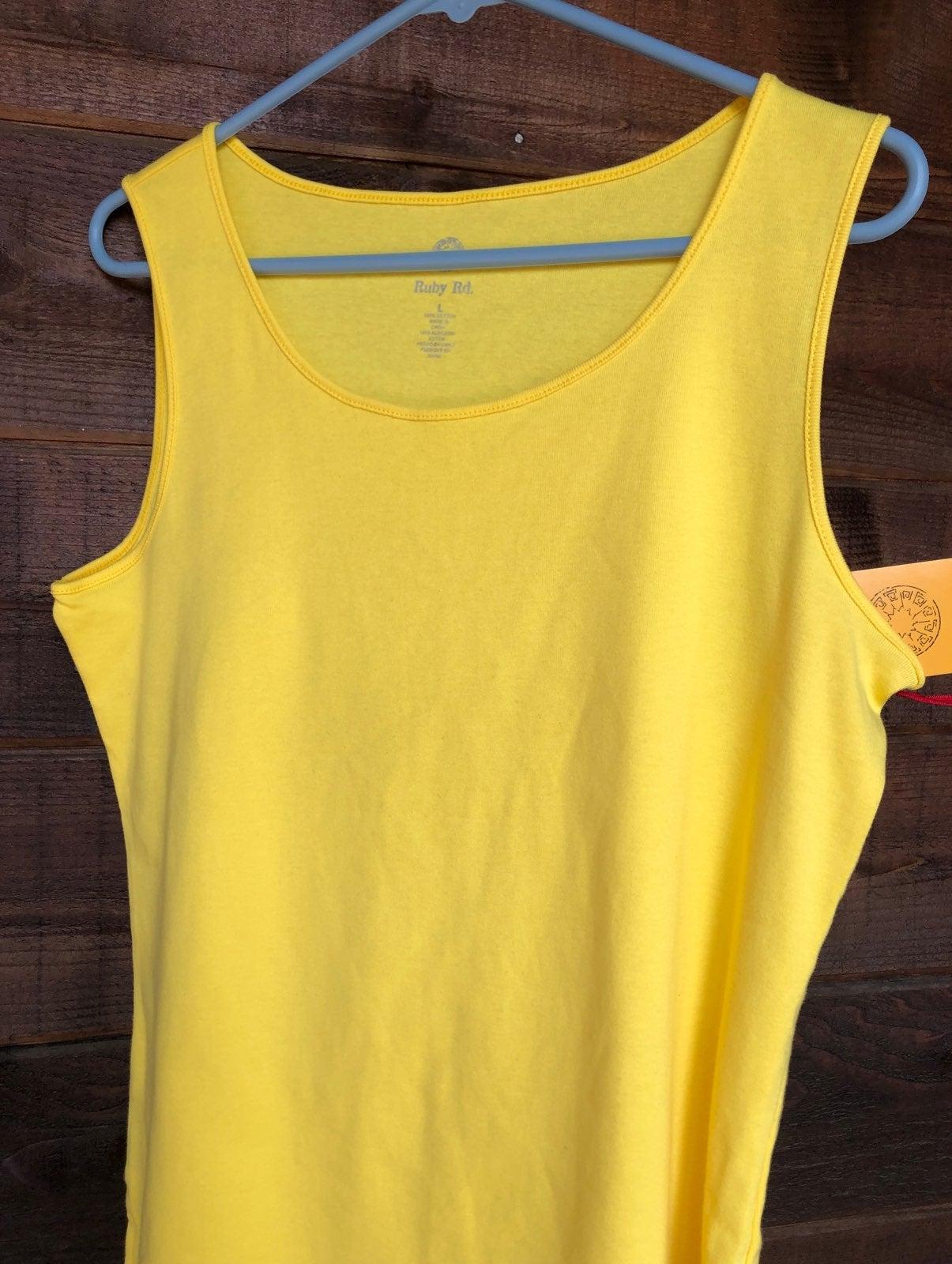 Tank Top large (yellow)