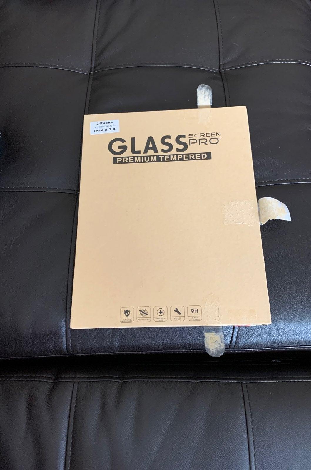 Glass iPad protector generation 1,2,3,4