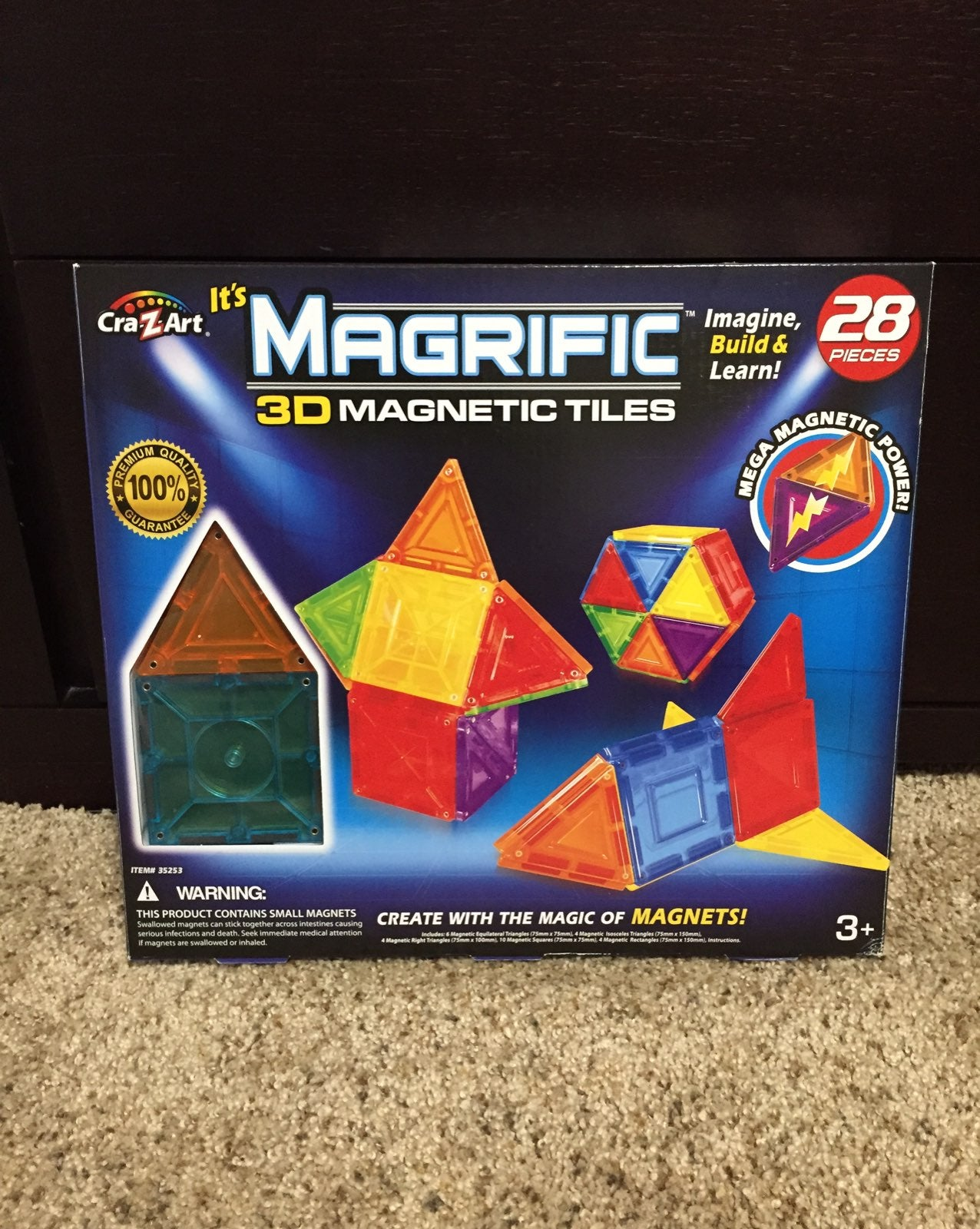 MAGRIFIC 3D Magnetic Tiles