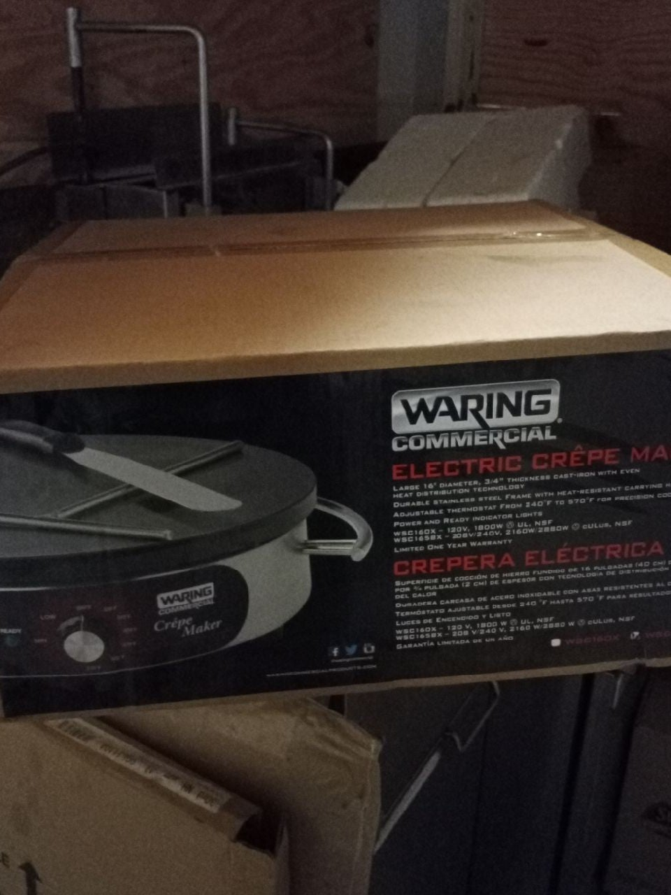Waring Commercial Crepe Maker