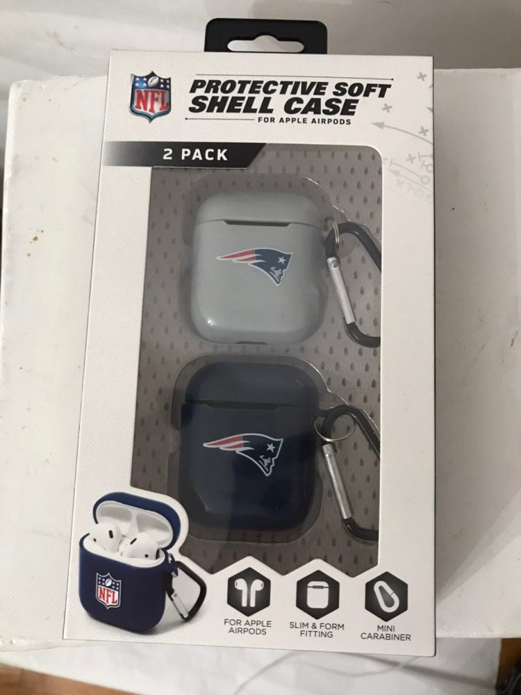 NFL Soft shell case for apple airpods