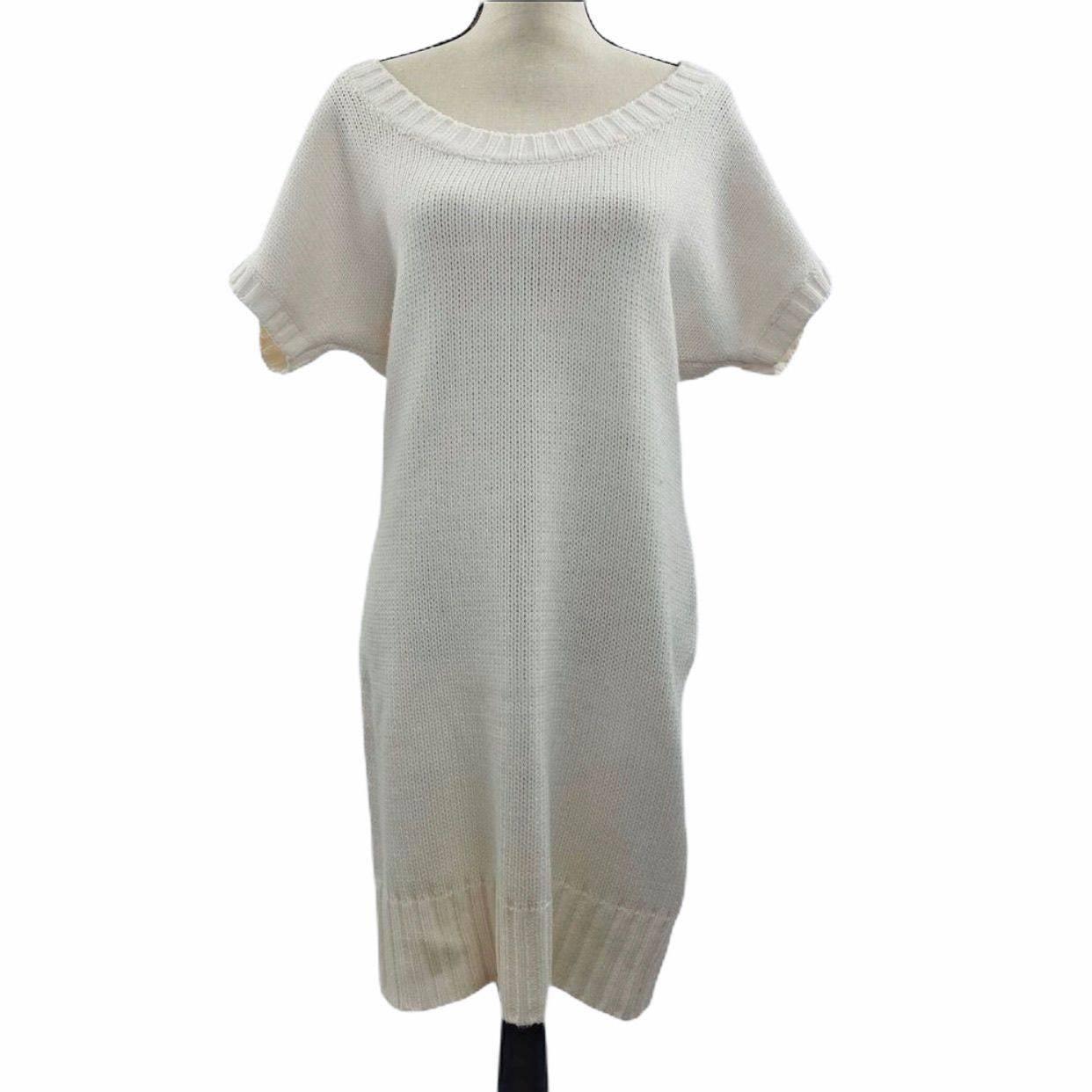 a.n.a A New Approach Cream Sweater Dress