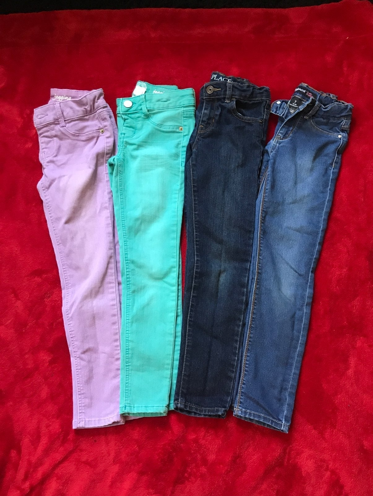 Girls size 7 Jeans Bundle