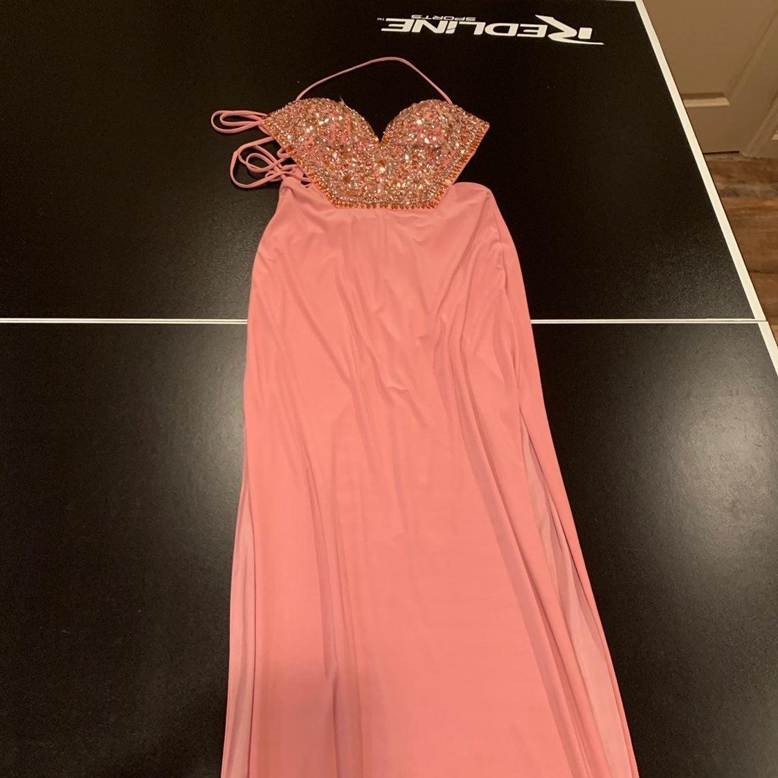 Rose/ pink prom dress