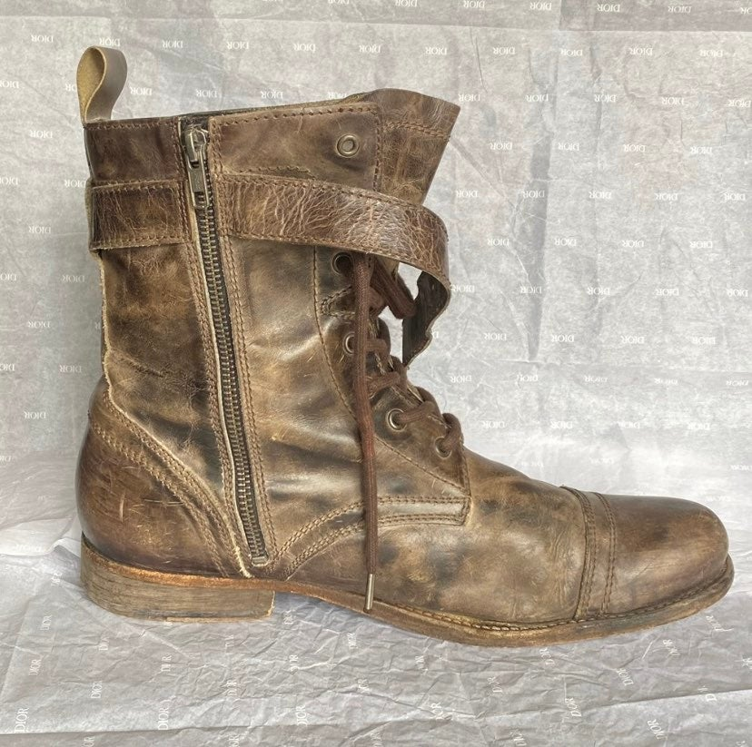 All Saints Leather Boots - Size 44 (11)