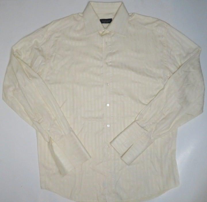 Canali French Cuff Dress Shirt 16.5 - 42