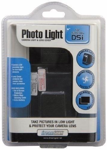 DS Photo Light - Black - Nintendo