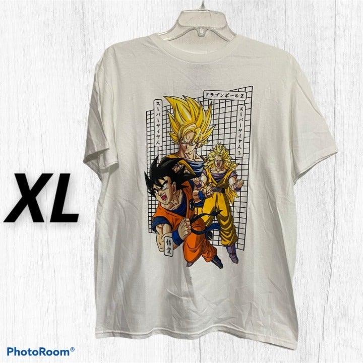 Retro Dragon Ball Z Kanji Anime T-Shirt