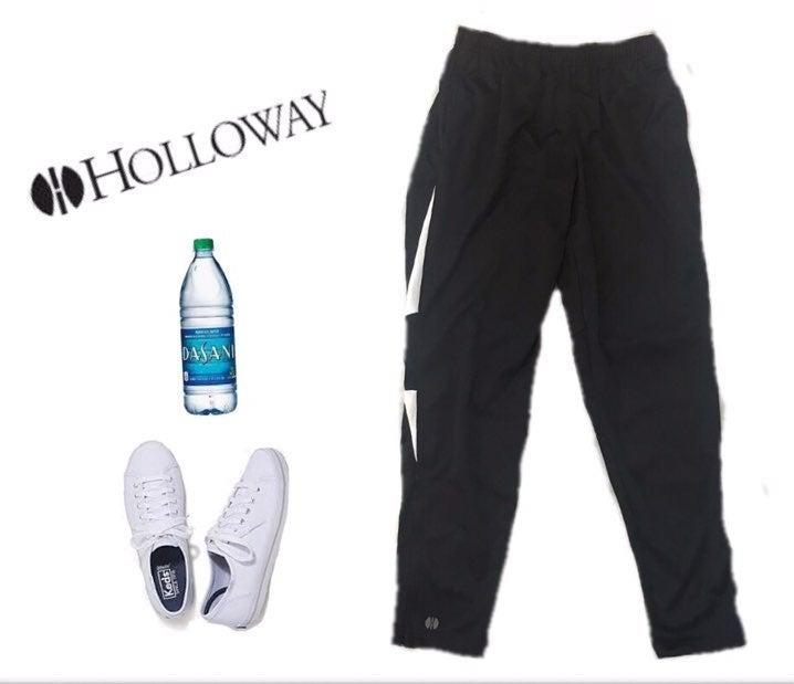 Holloway Black & White Athletic Track M