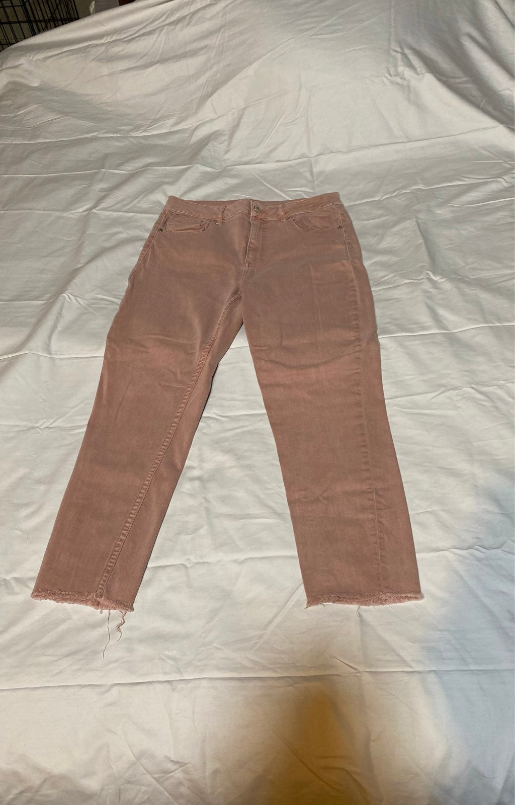 Maurices Rose Colored Skinny Jeans