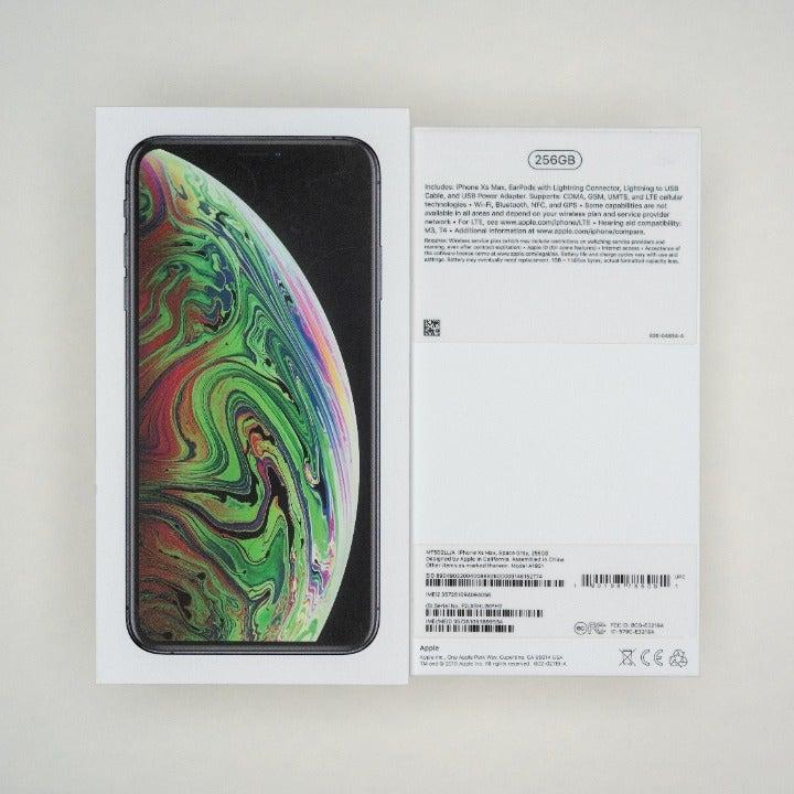 iPhone Xs Max Empty Retail Box NO DEVICE