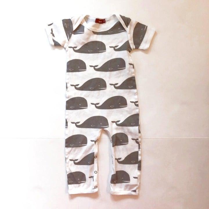 Milkbarn Whale Romper 12-18 months