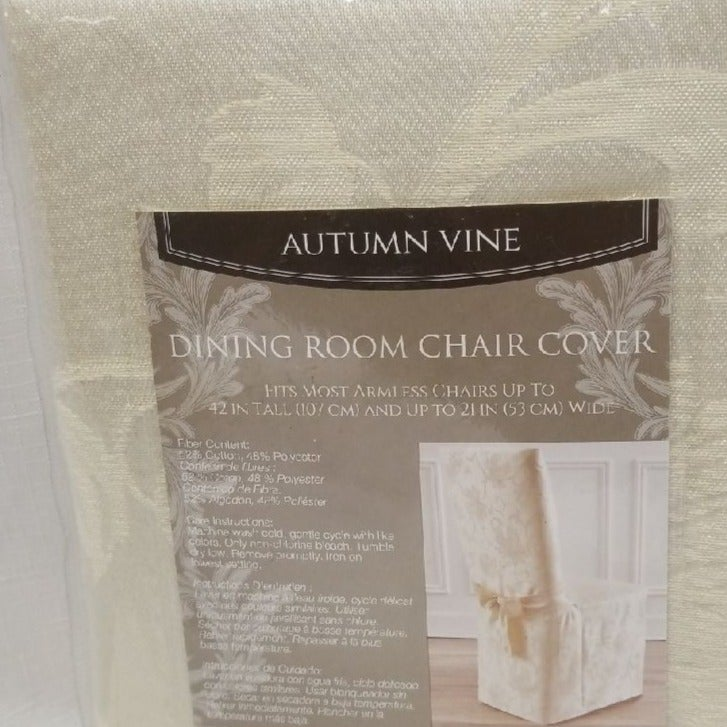 Autumn Vine Dining Room Chair Cover
