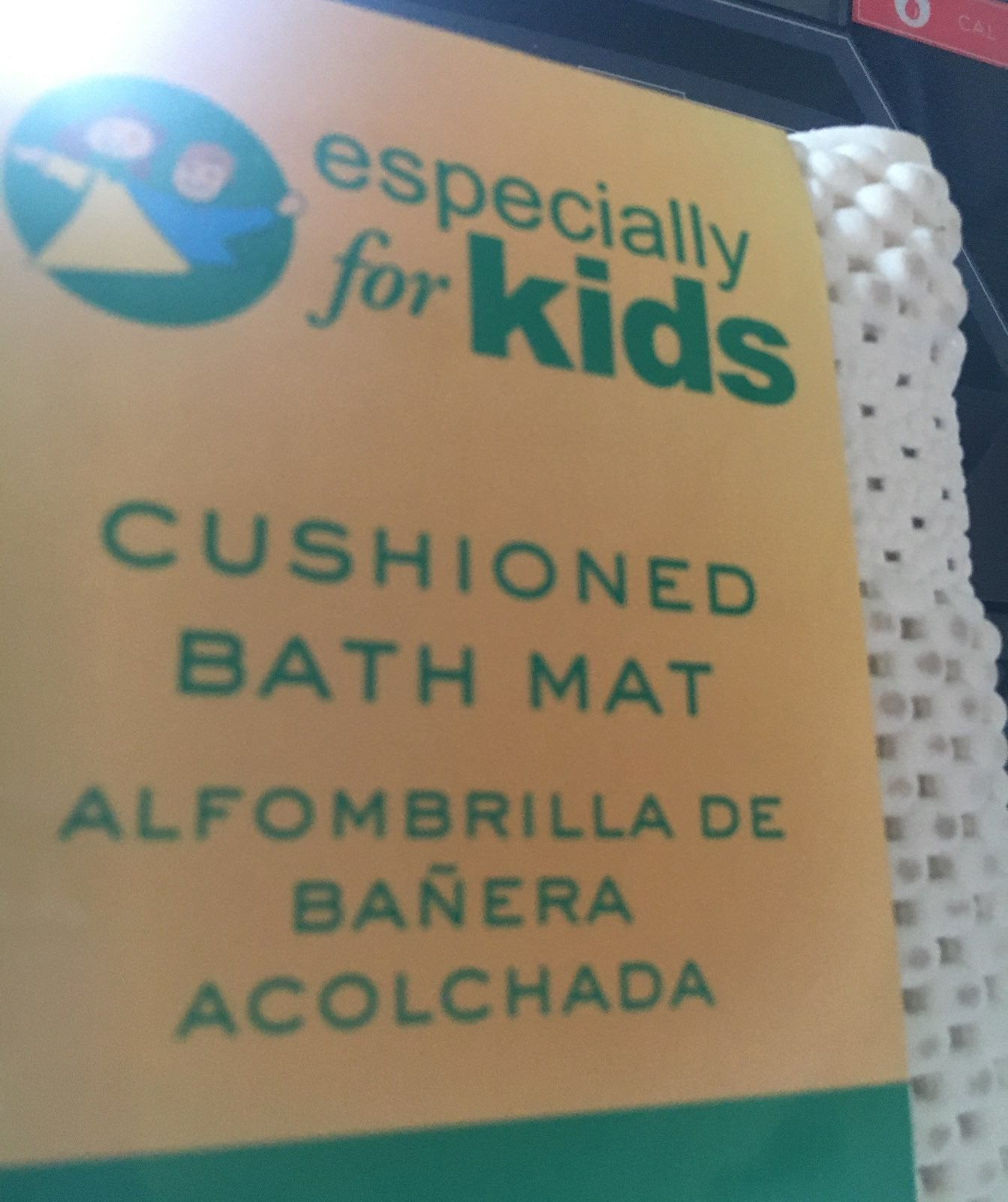 Cushioned bath mat