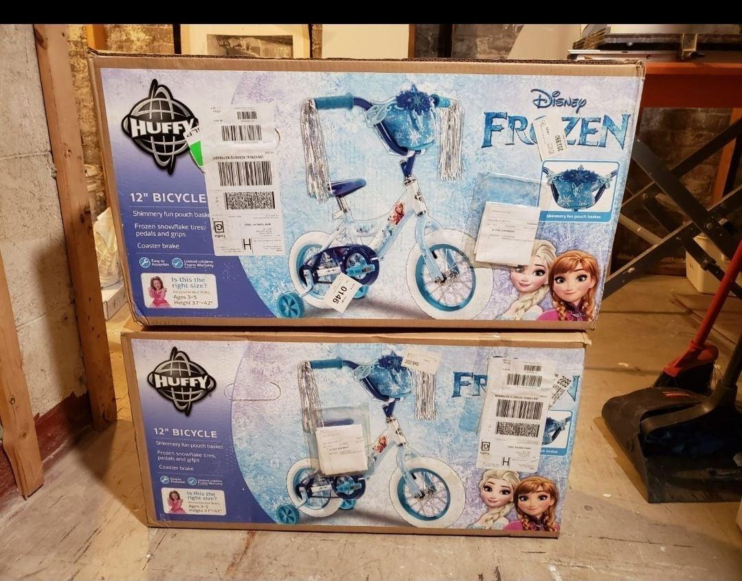 Frozen Huffy Bikes