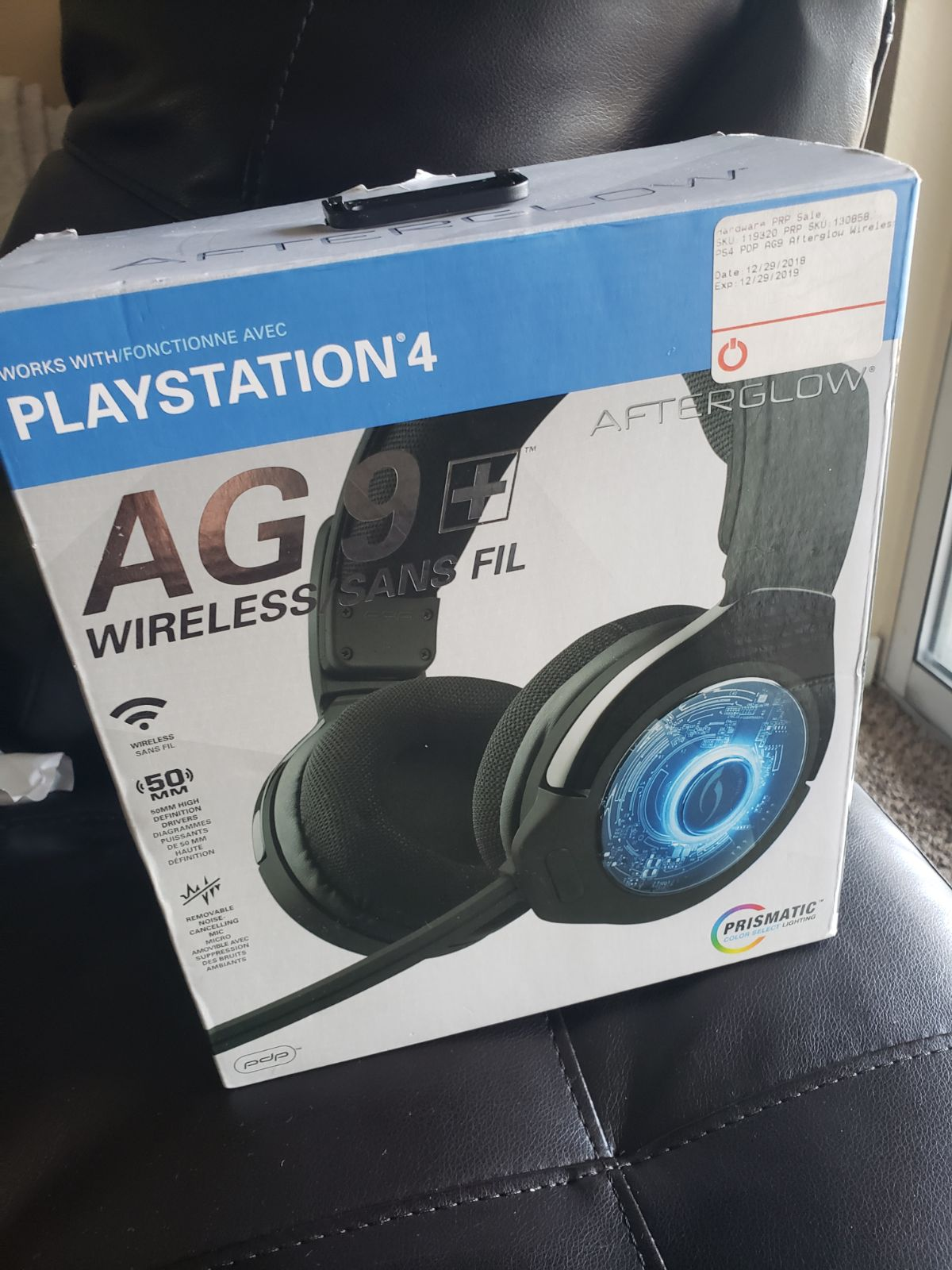 Amazing AG9+ Wireless Playstation 4 Glow