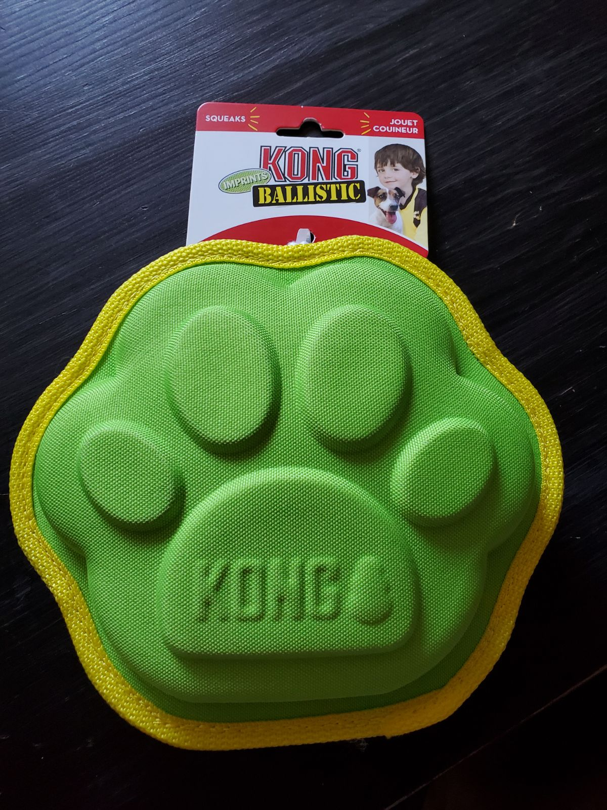 BIG DOG squeaky toy