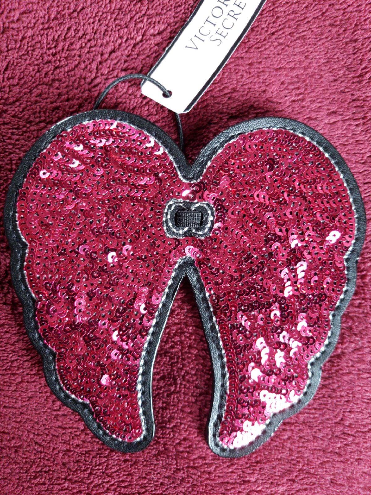 NWT Victoria Secret Hot Pink Angel Wings