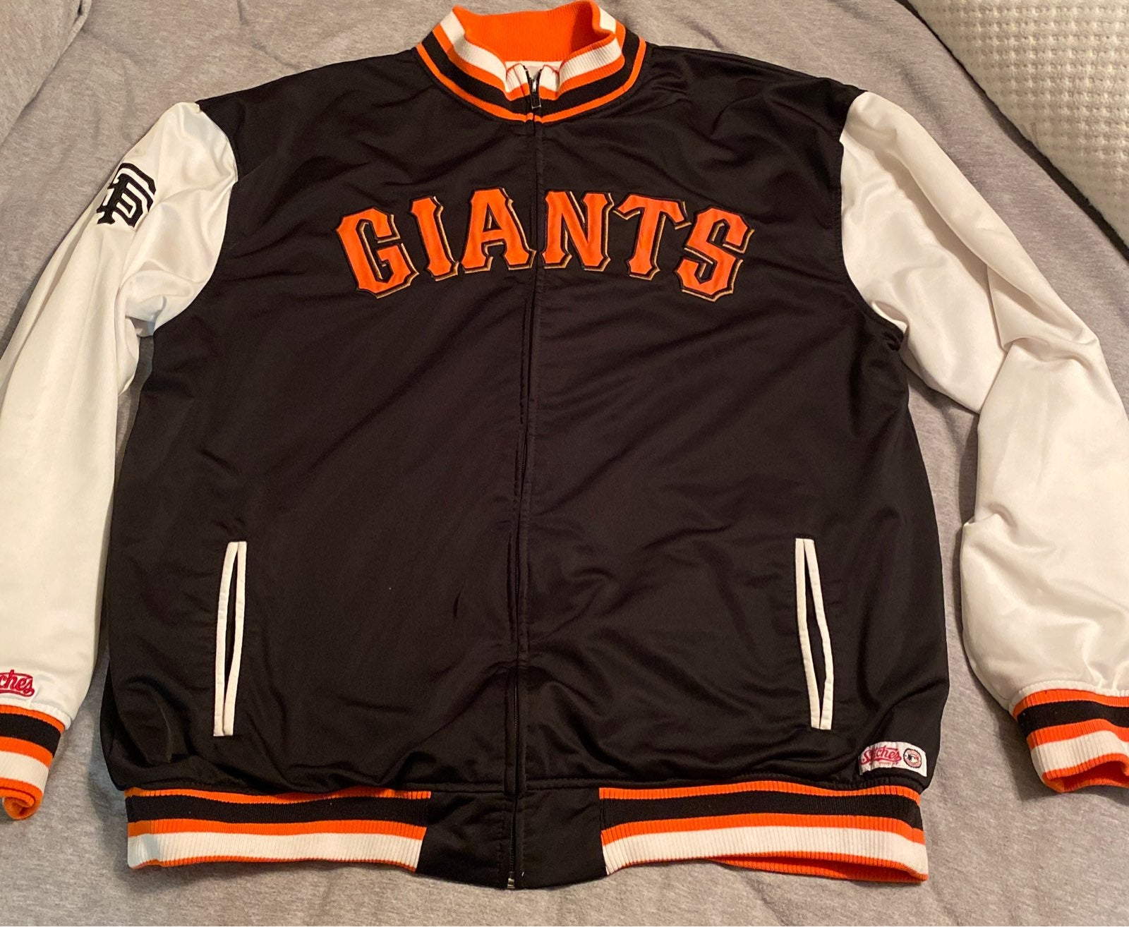 Mens stitches SF Giants Jacket