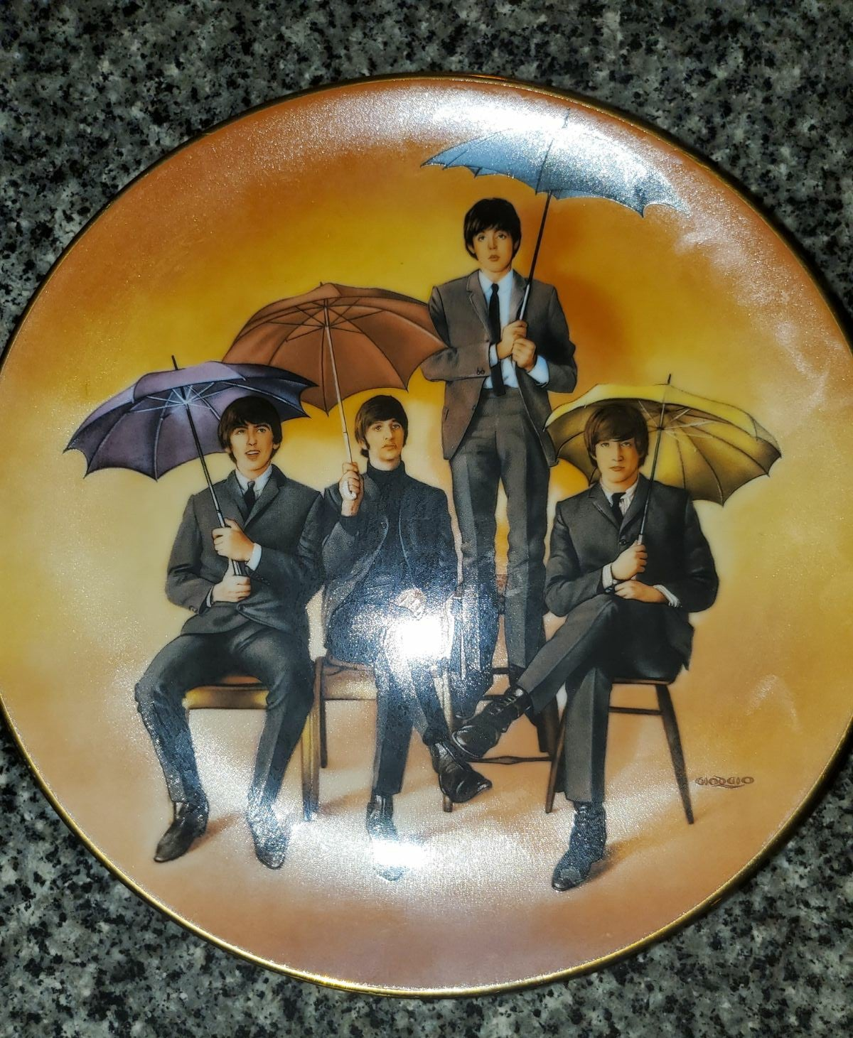 The Beatles 65 Plate
