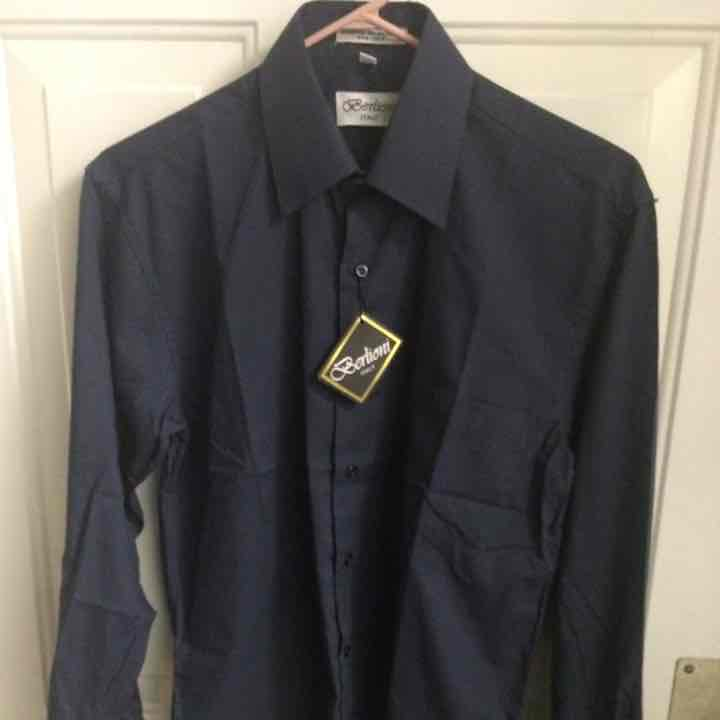 Berlioni Italy long sleeves DK blue