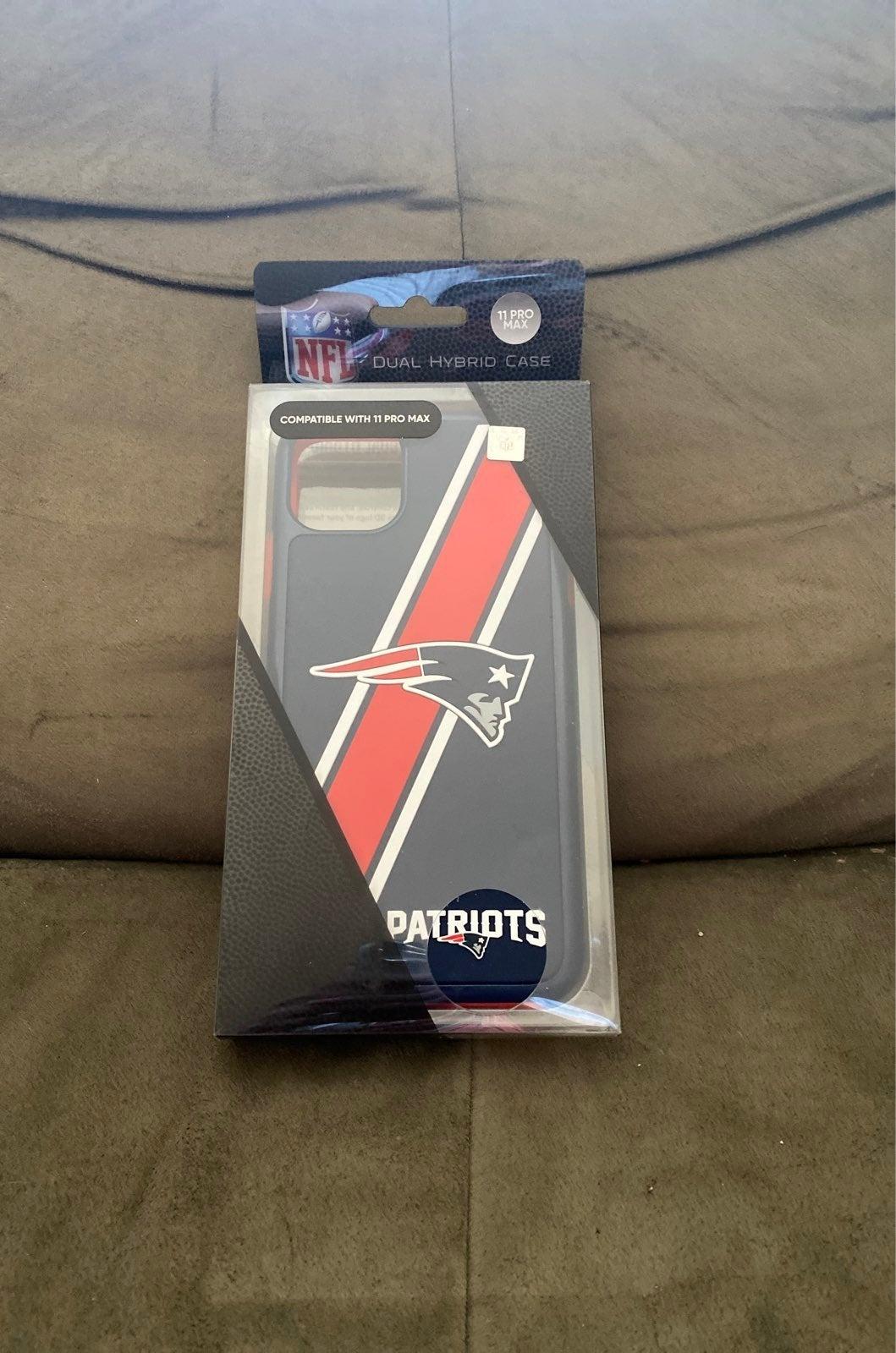 NFL patriots iphone 11pro max case