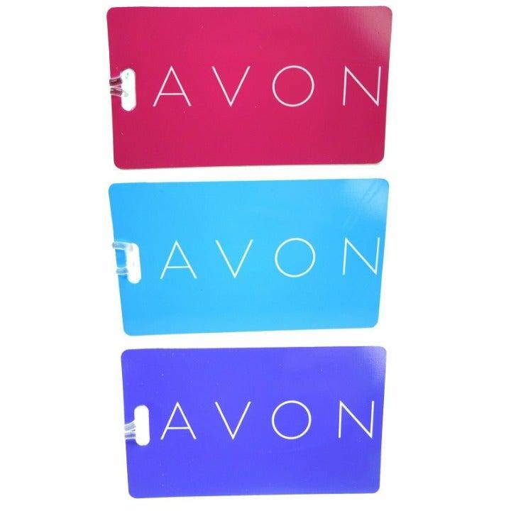 Avon Luggage Tag Set