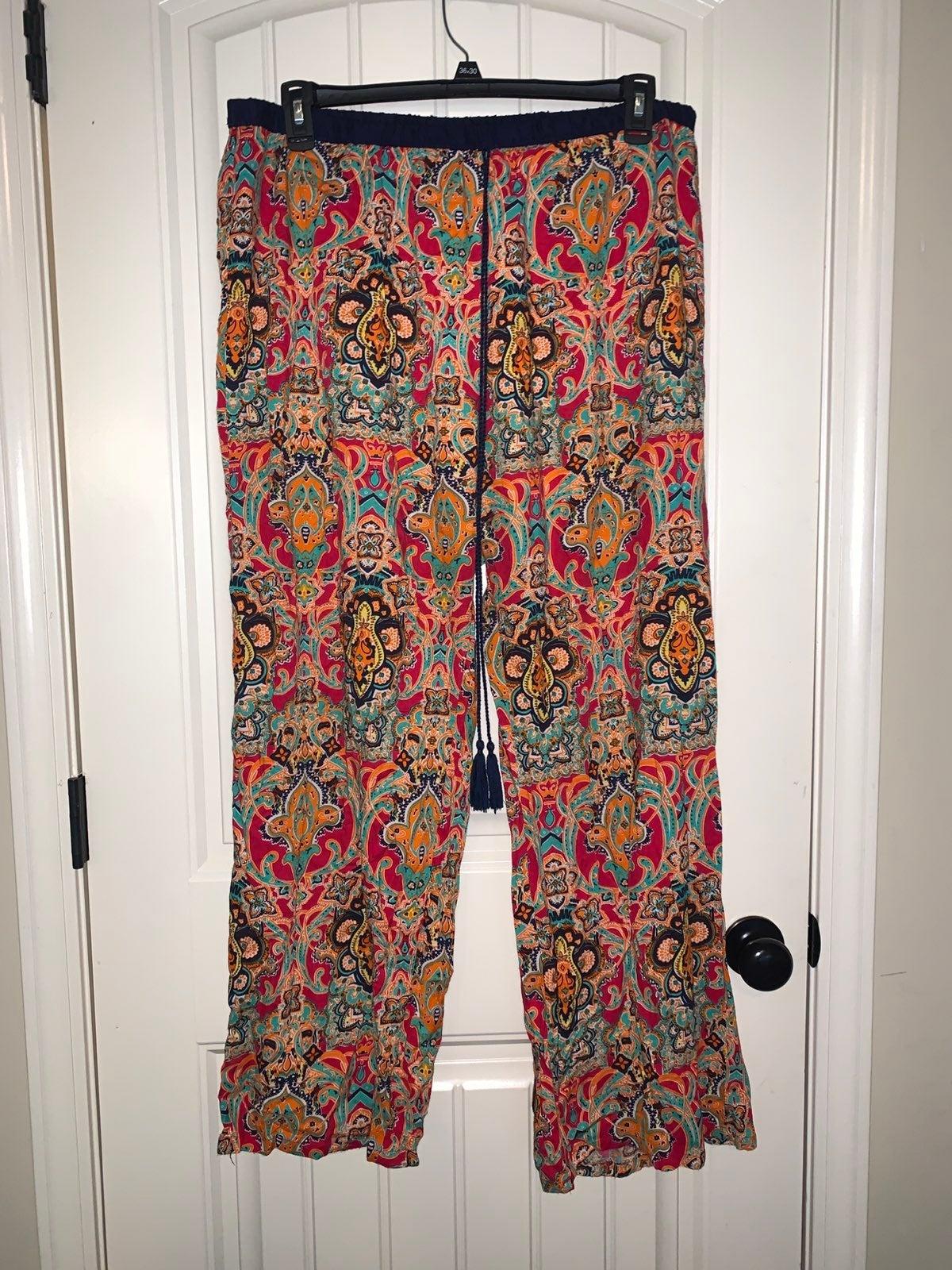 Plus size plazzo pants