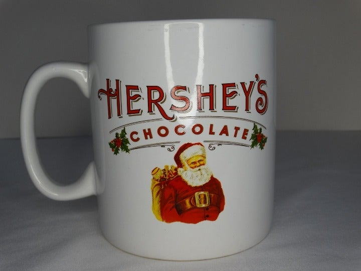 Oversized Hershey's Chocolate Santa Mug