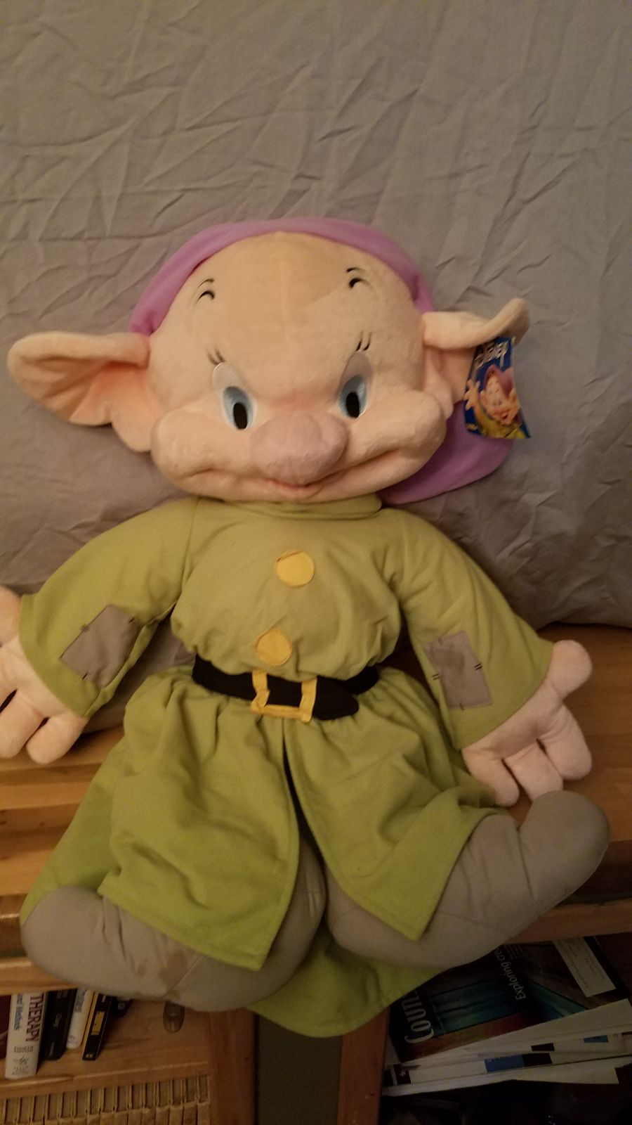 Large 26 in Dopey Plush from Snow White