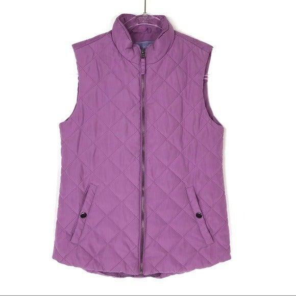 Laura Scott | Soft Lavender Quilted Vest