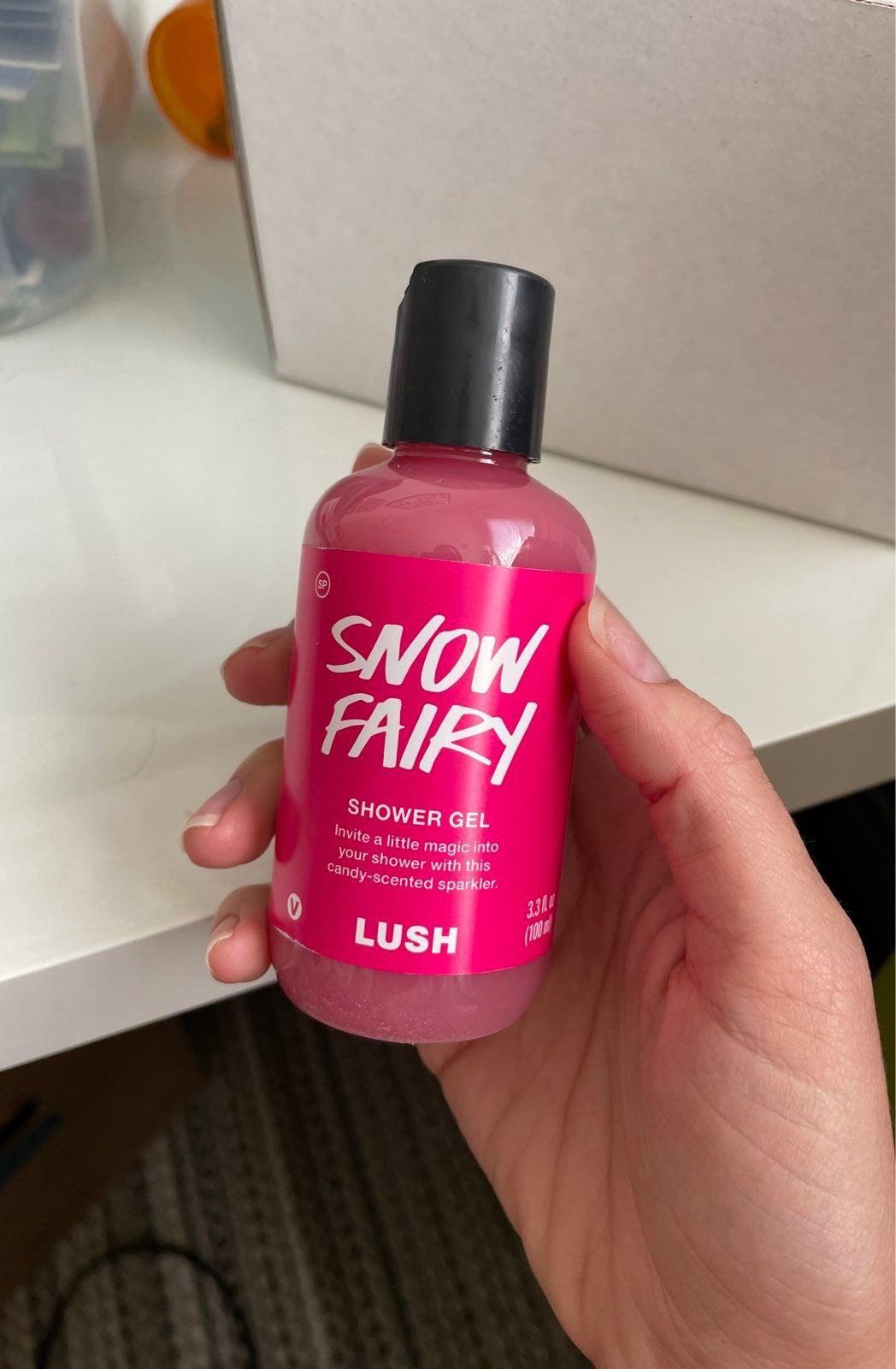 Lush Snow Fairy Shower Gel 3.3oz