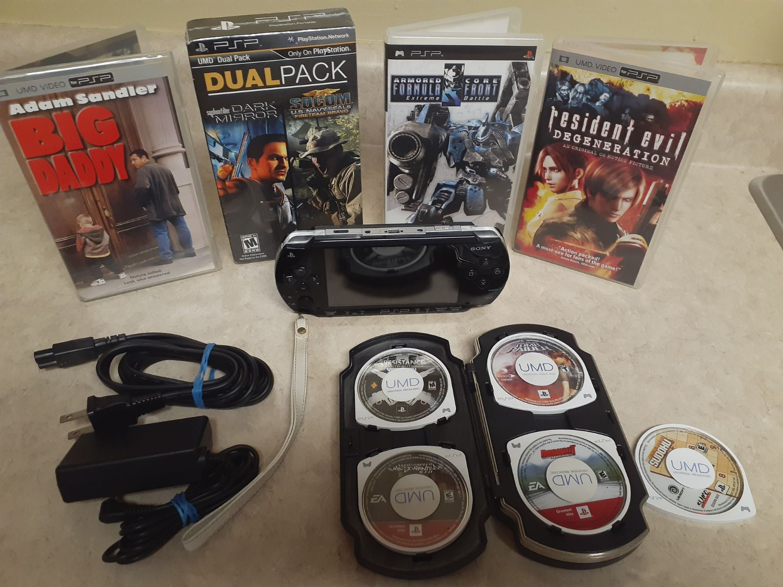 Sony PSP Console 1001 w/ Factory Sealed