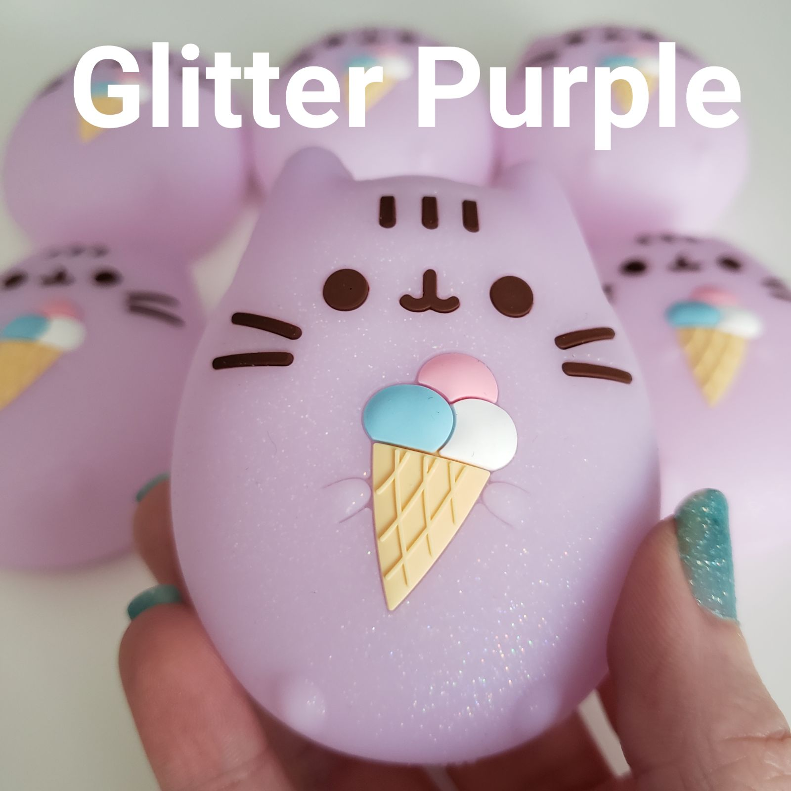 Glitter Purple Tamagotchi Case Cover