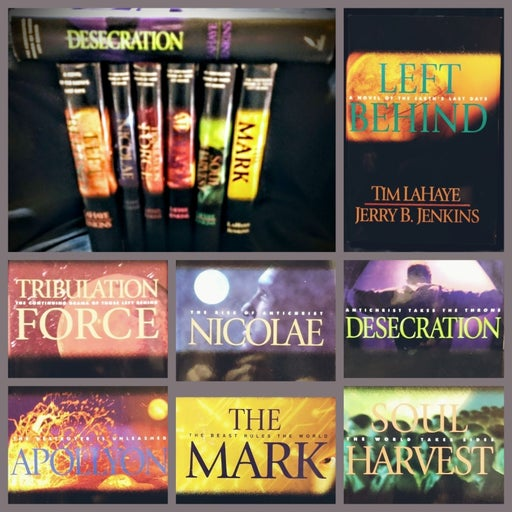 LEFT BEHIND Hardcover Books
