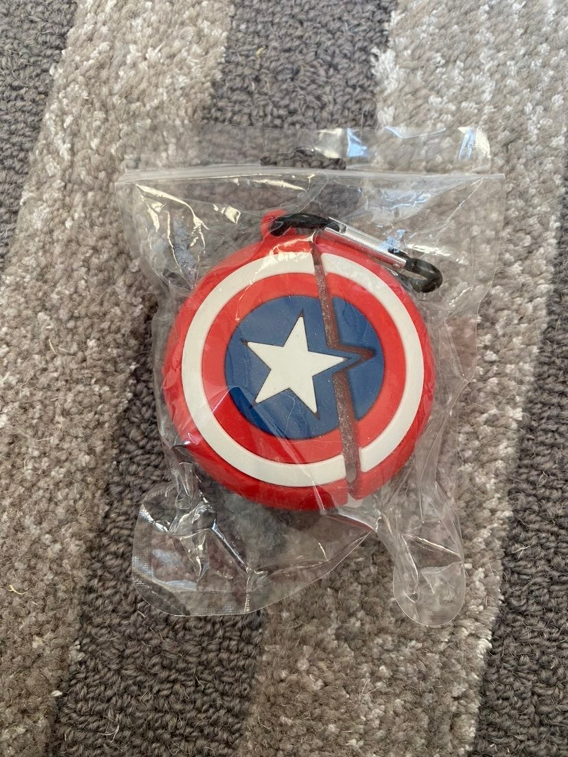 Captain America Airpods Pro Case Cover
