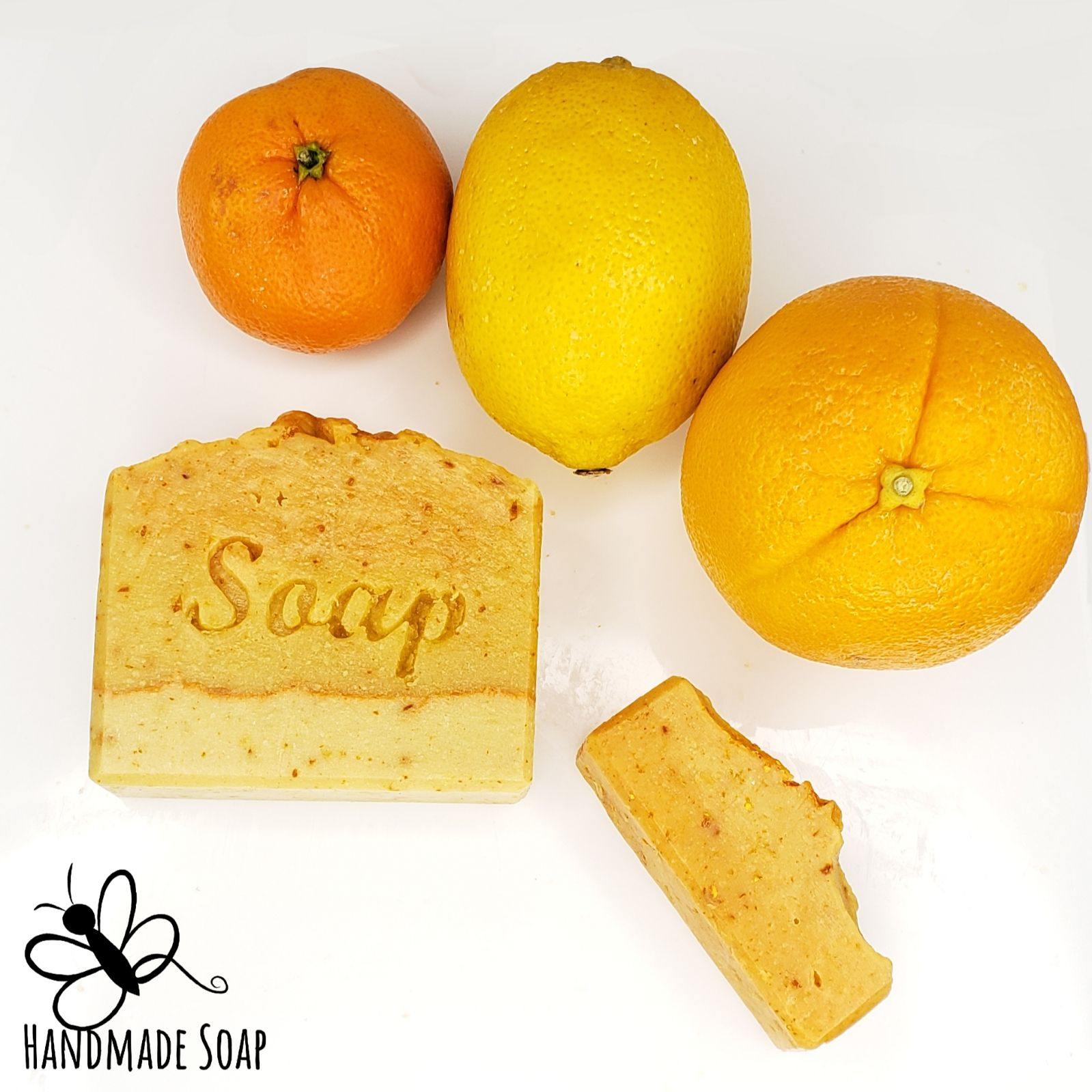 BBR's Handmade Citrus Burst Soap