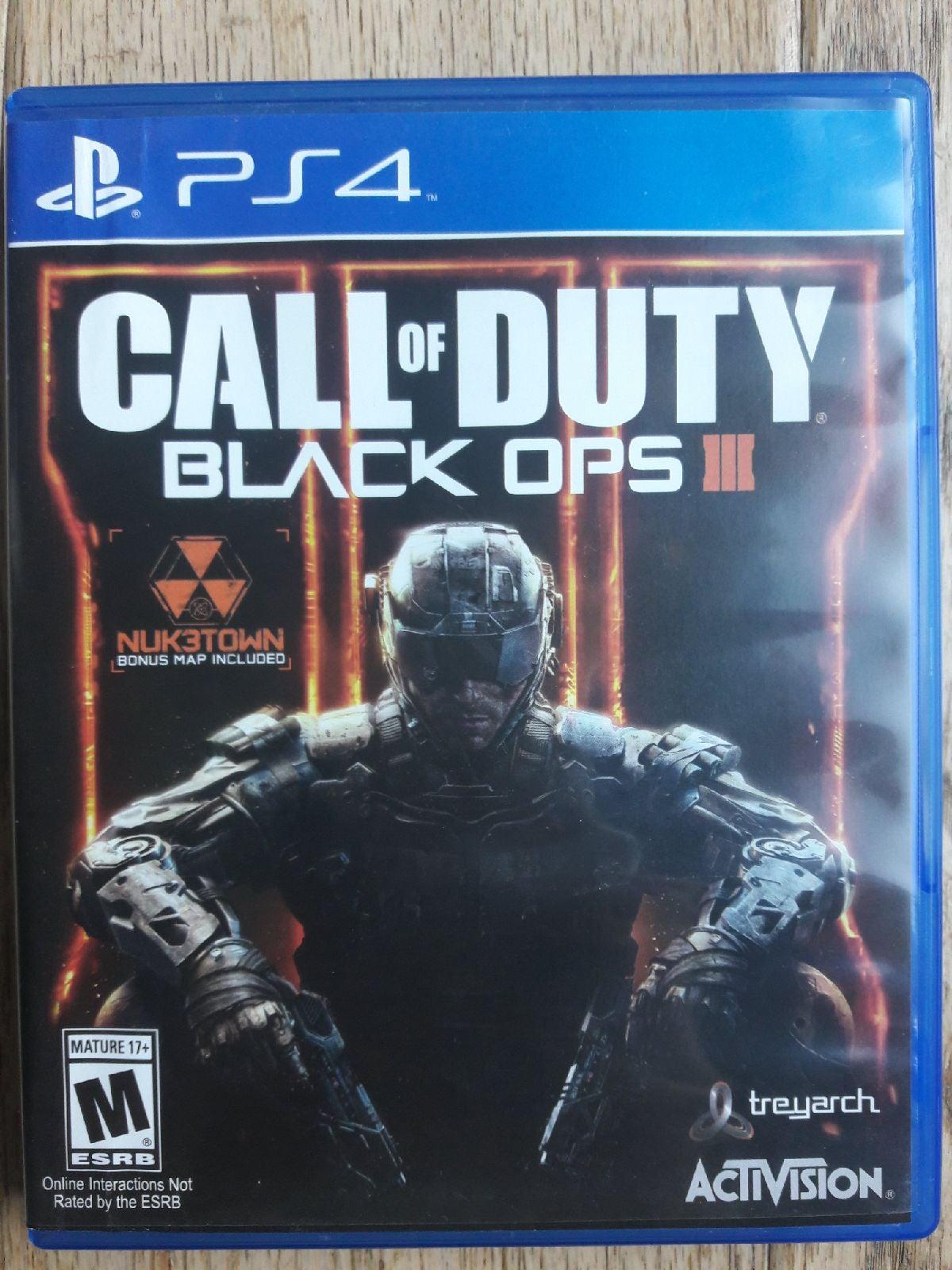 Call of Duty: Black Ops III on Playstati