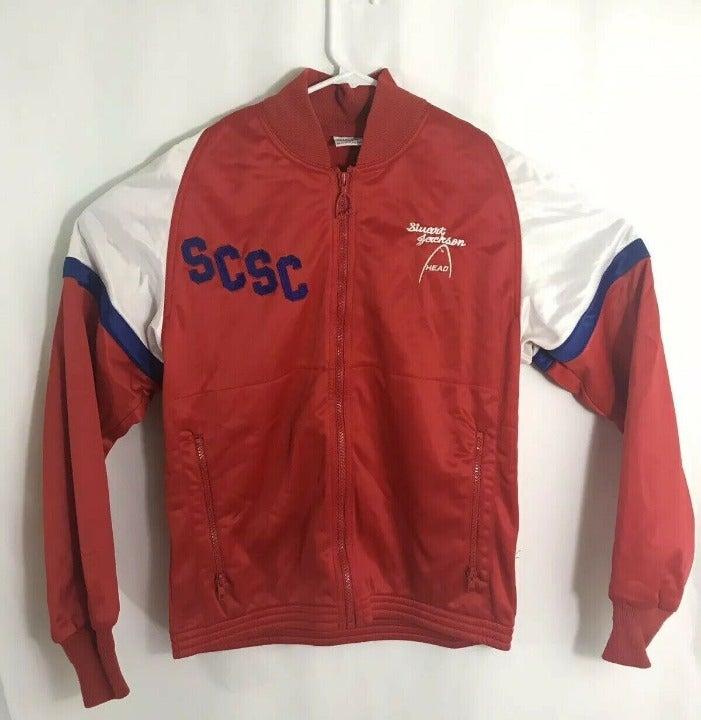 Vintage 80s Mens Medium Track Jacket Hea